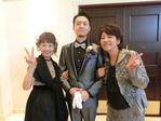 新郎&両家母