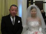 新婦父と挙式直前