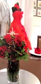 ドレス 赤 1