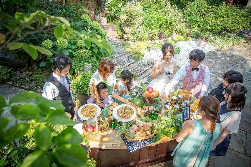 花遊庭ウェディングパーティー