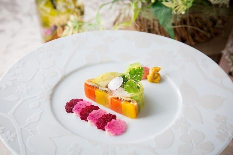 花遊庭フルコース料理