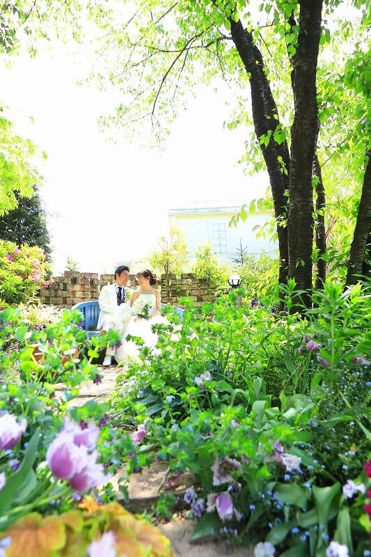 花遊庭結婚式写真