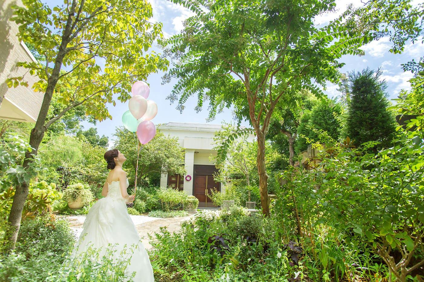 花遊庭の「コト」ウェディング