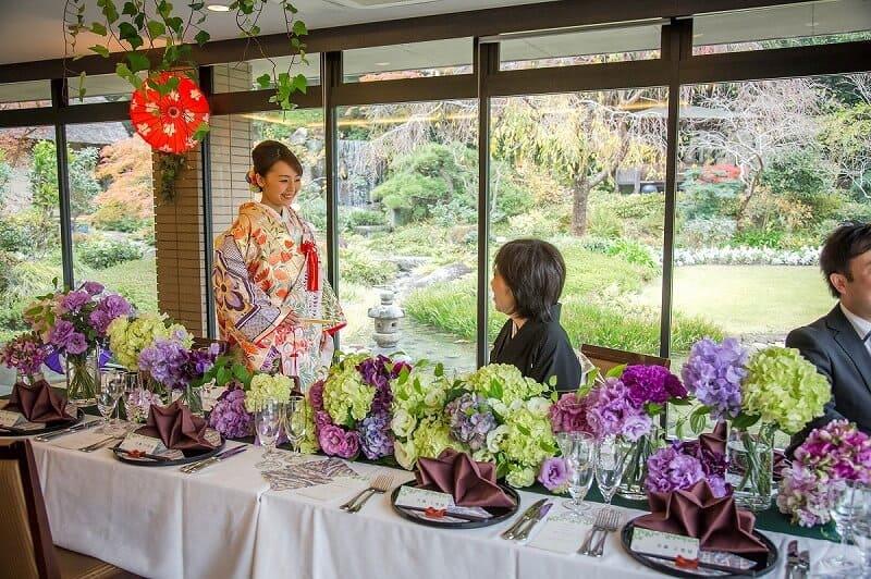 花遊庭の和婚